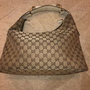 Gucci hobo purse- authentic with original papers